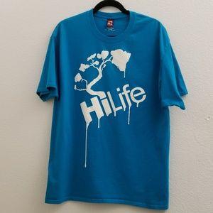 HiLife Cotton Graphic Tee Shirt M16